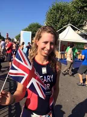 Emma deary the itu european sprint triathlon - Swimming pools in bishops stortford ...