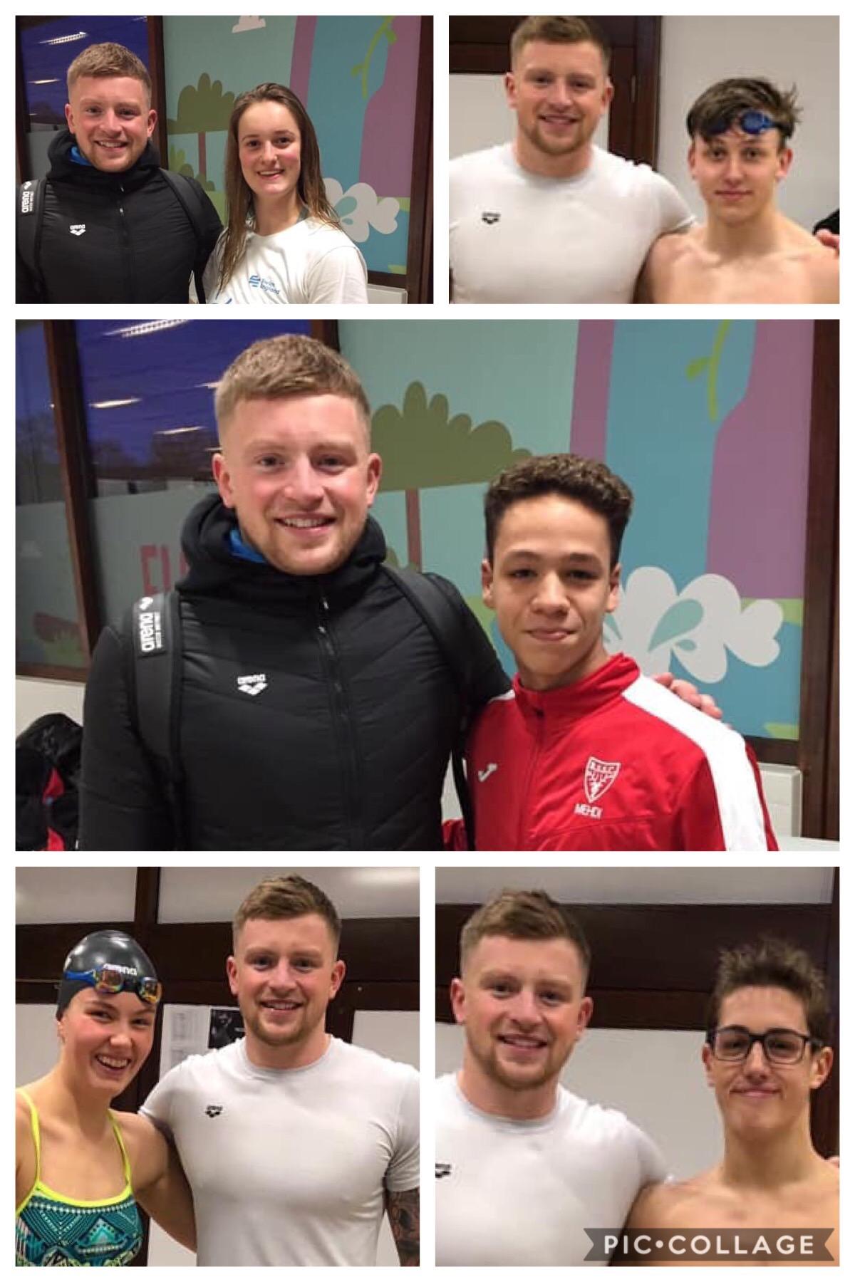 BSSC Swimmers Meet Team GB – Bishop's Stortford Swimming Club